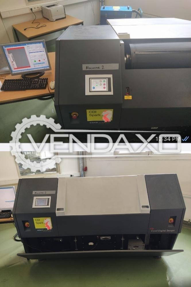 Esko CDI Spark 4835 Flexo Plate CTP Machine - 1200 x 900 mm