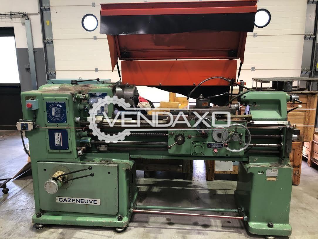 Cazeneuve HB-500 Parallel Lathe Machine - 1000 mm