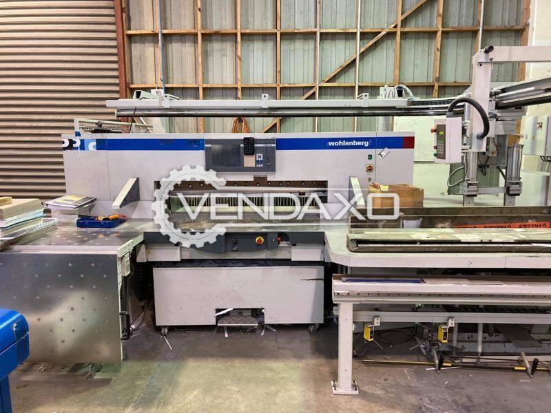 Wohlenberg 137 Pro Paper Cutting Machine - 137 CM