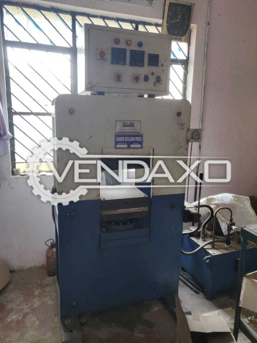 For Sale Used Rubber Moulding Press - 80 Ton
