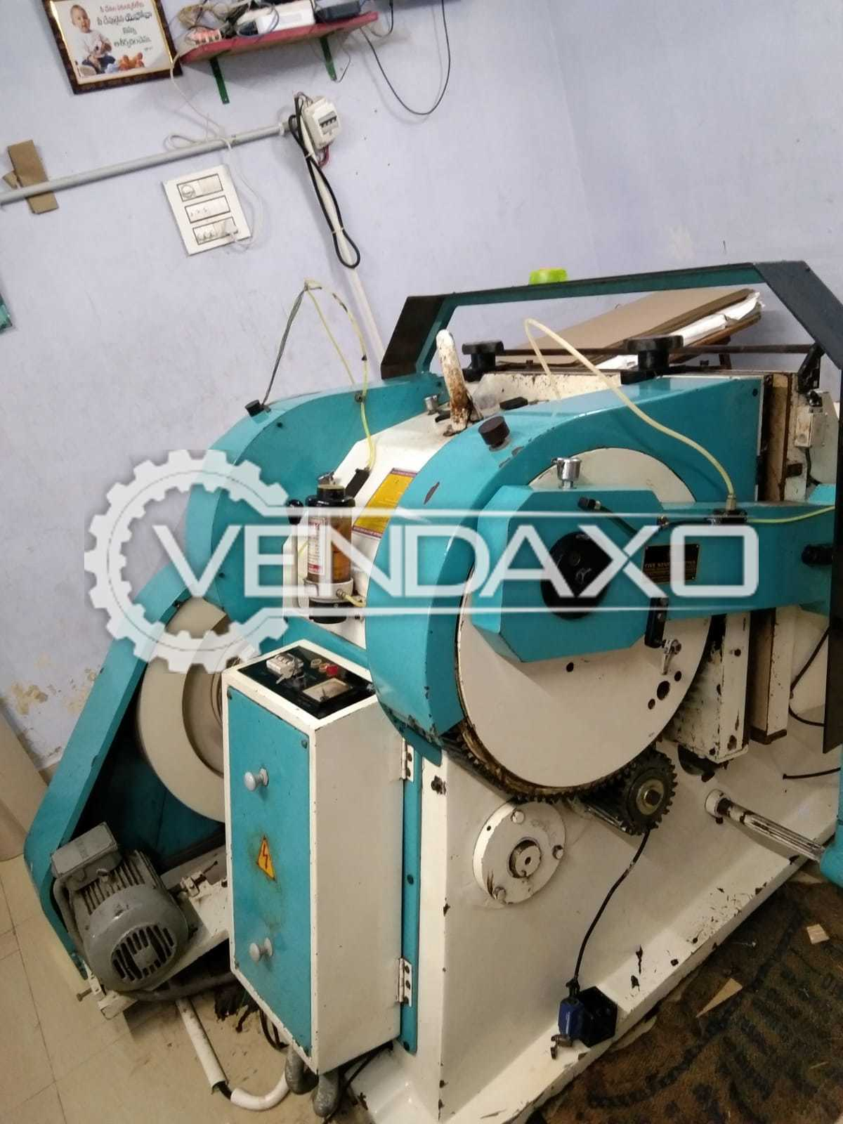 Five Star Punching Machine - 25 x 35 Inch