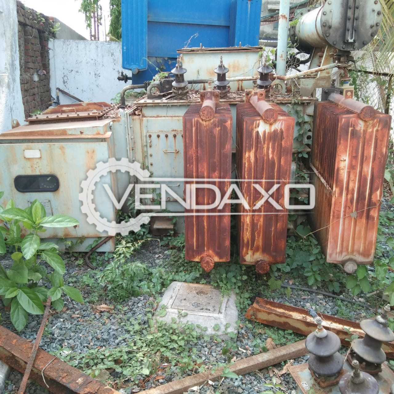 The Delta Group Transformer - 750 Kva With Crompton Greaves Oltc