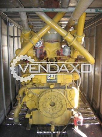 CAT G-399 Diesel Generator - 750 KVA