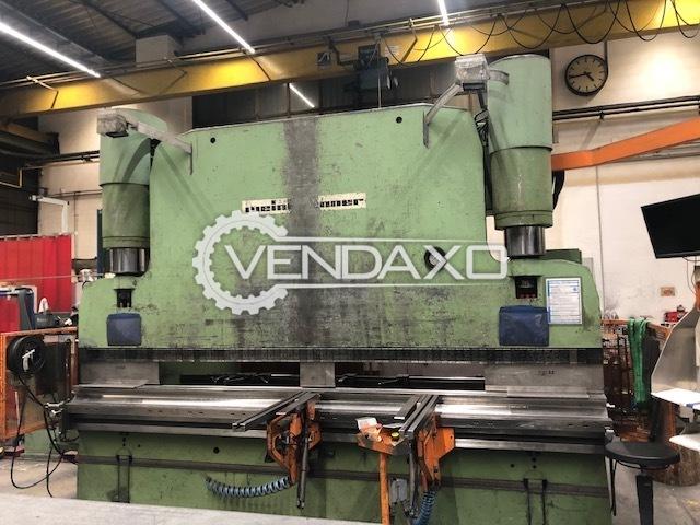 Weinbrenner CNC Press Brake Machine - 4000 mm x 325 Ton
