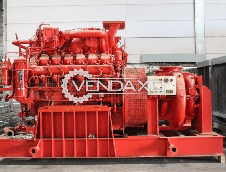 Paxman 12RP-2000 Marine Engine
