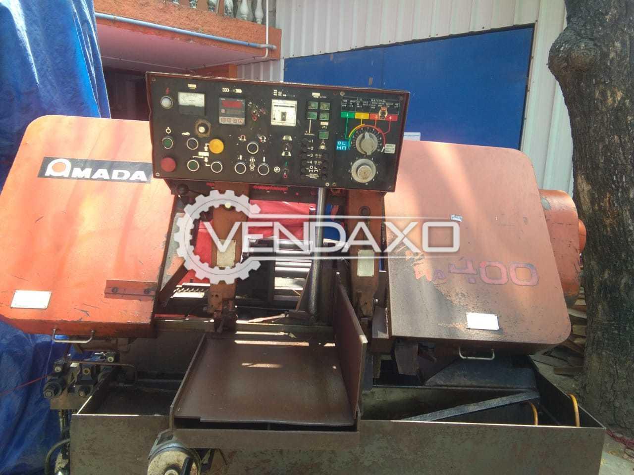 Amada HA-400 Fully Automatic Bandsaw Cutting Machine - Diameter - 400 mm