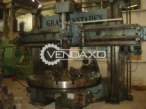 Graffenstaden 1720 1L Vertical Turret Lathe VTL - Table Diameter - 2250 mm