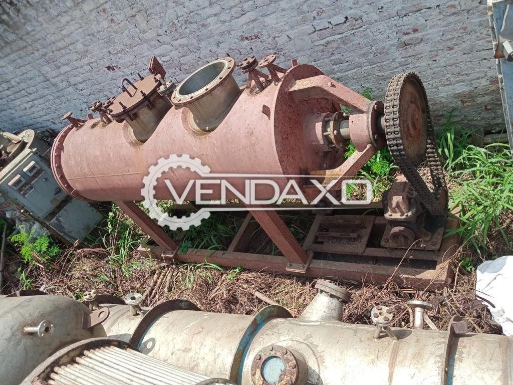 SS 304 Roto Cone Vacuum Dryer (RCVD) - 1.6 KL