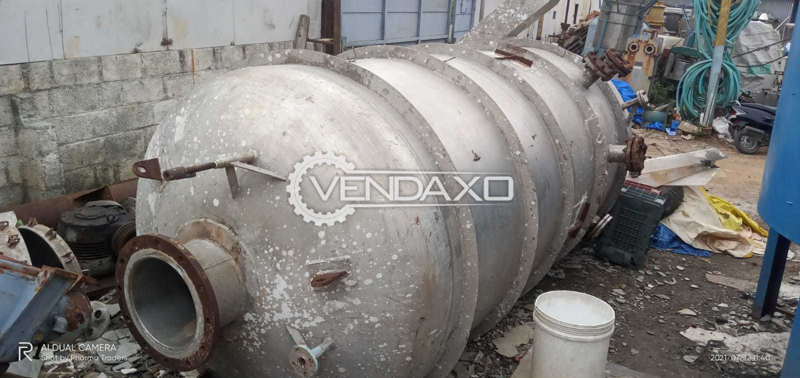 For Sale Used SS 316 Storage Tank - 5 KL