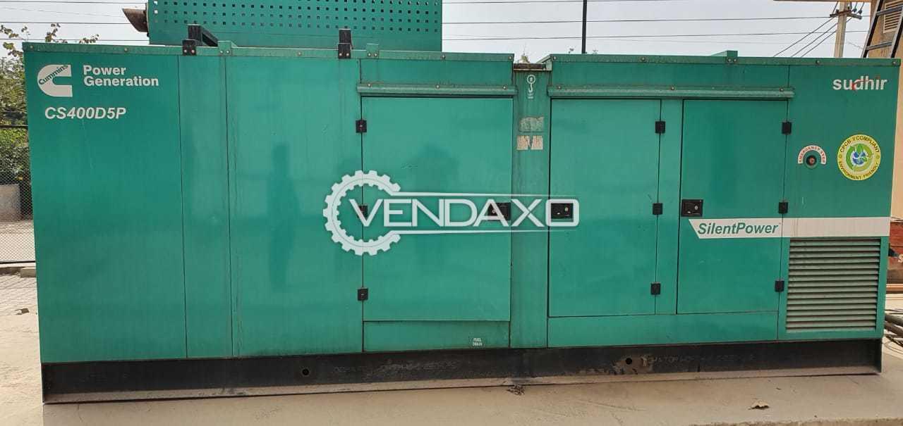 Cummins Sudhir Diesel Generator - 400 Kva, 2017 Model
