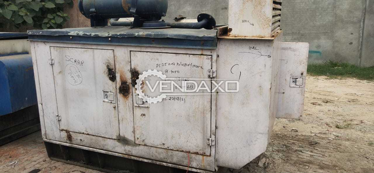 Kirloskar RB33 Plus Diesel Generator - 25 Kva