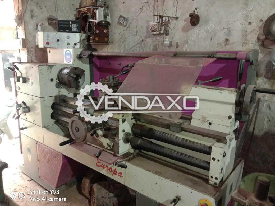 Famot Europa Lathe Machine - Turning Diameter - 350 mm