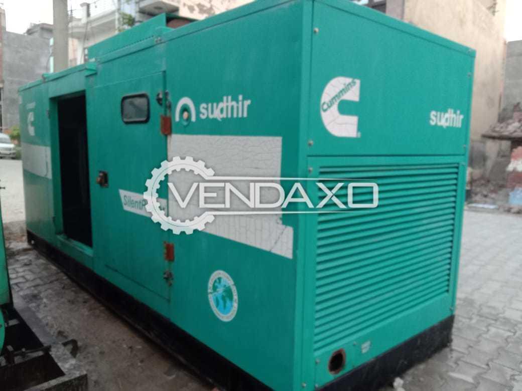 Cummins Sudhir CS180D5 Diesel Generator - 180 Kva, 2010 Model
