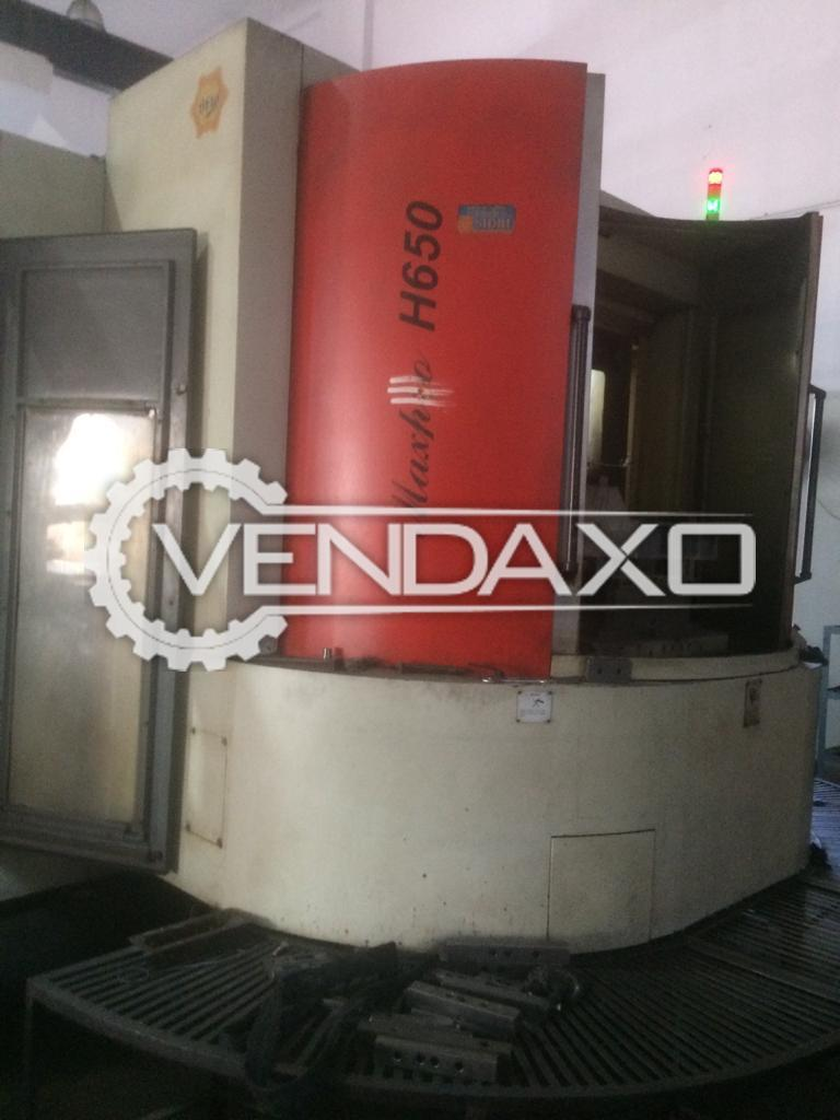 BFW Maxpro H-650 CNC Horizontal Machining Center HMC - 900 x 630 x 630 mm