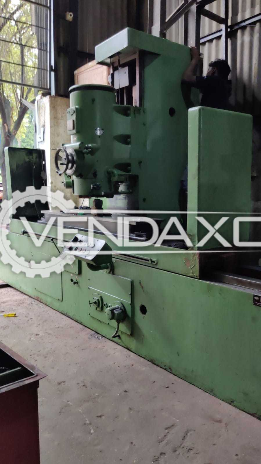 MAS Cylindrical Grinding Machine - Table Size - 1500 x 300 mm
