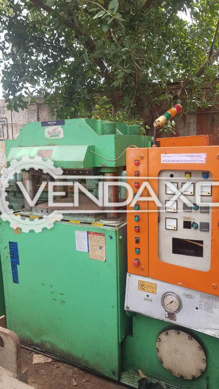 SANTEC Compression Rubber Moulding Machine - 100 Ton