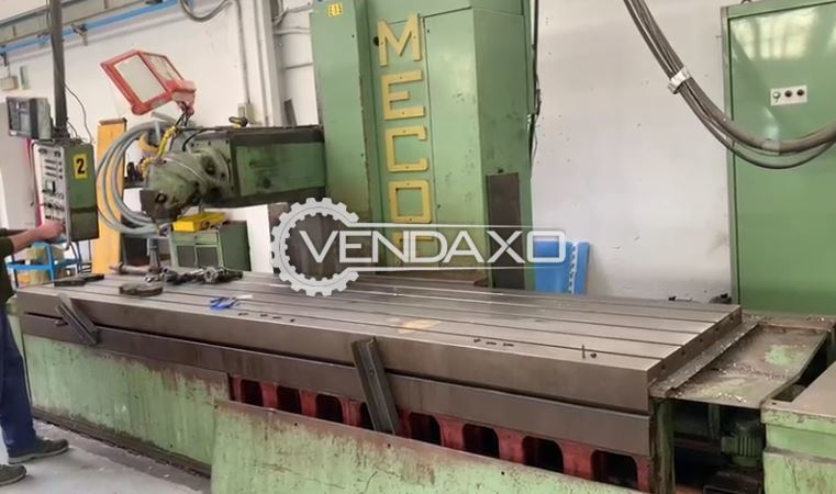 Mecof CS8 Elga Milling Machine - Table Size - 4000 x 950 mm