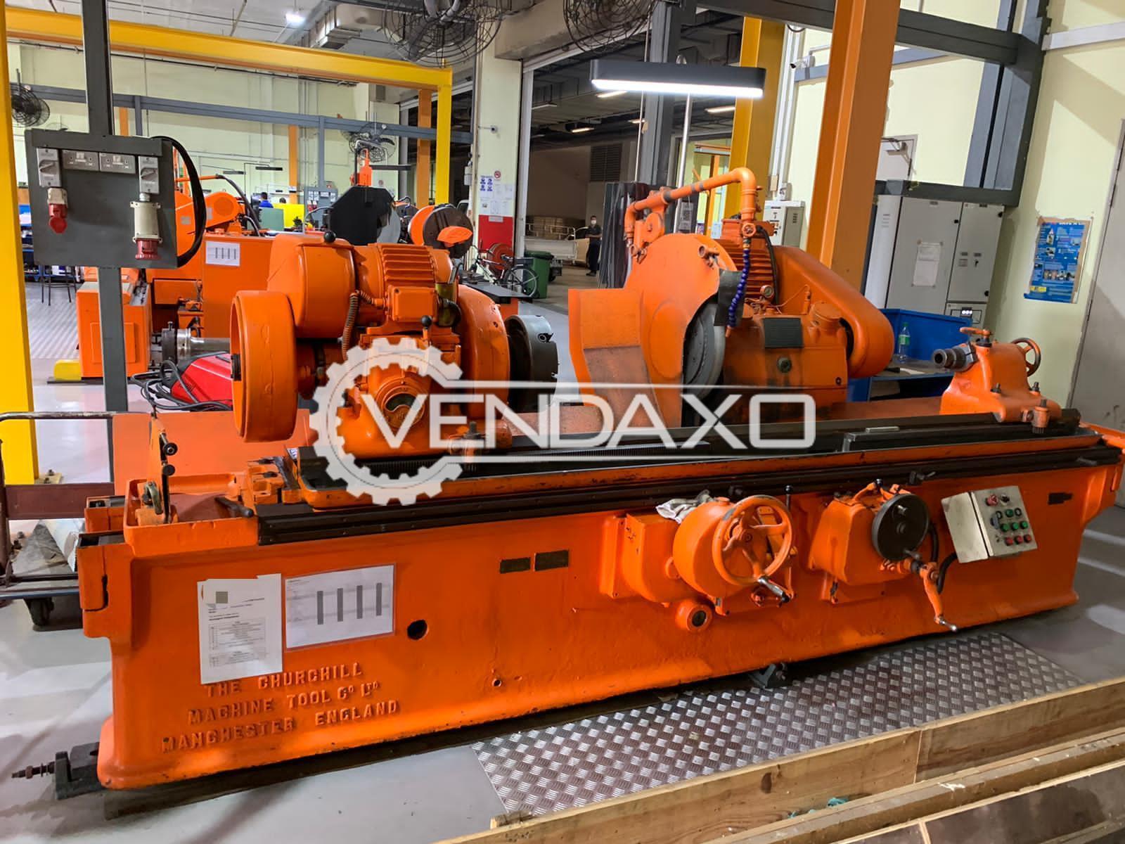 Churchill Hydraulic Cylindrical Grinder Machine - Admit Between Center - 2000 mm