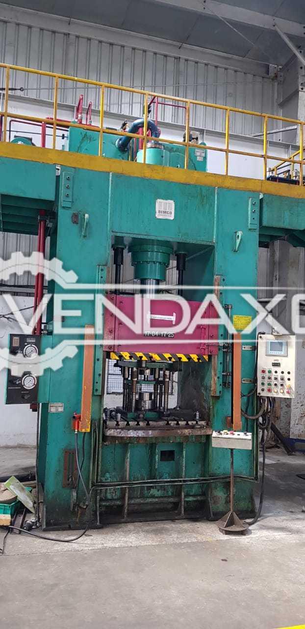Bemco DFD174 Hydraulic Power Press - 160 Ton