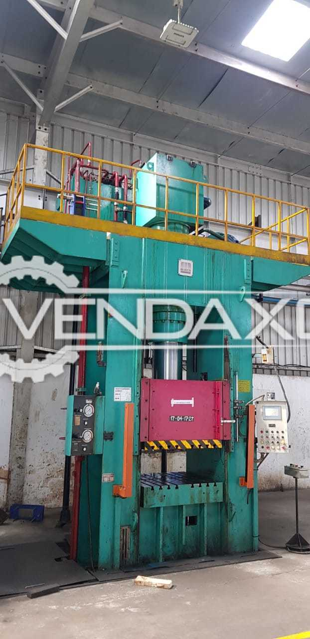 Bemco 1DFD-324 Hydraulic Power Press - 300 Ton