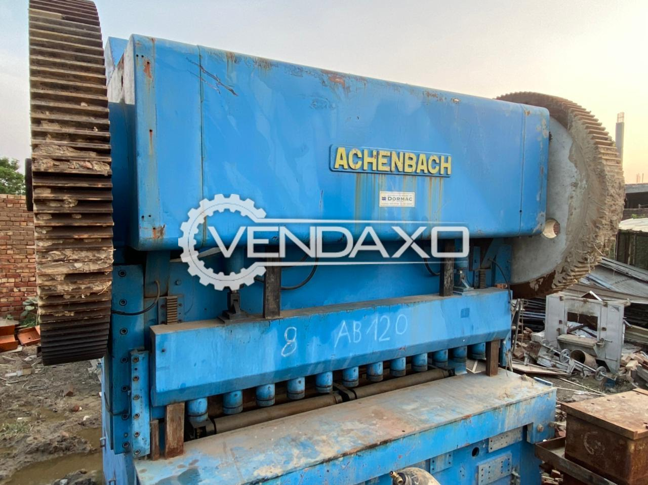 Achenbach Shearing Machine - 2550 x 35 mm