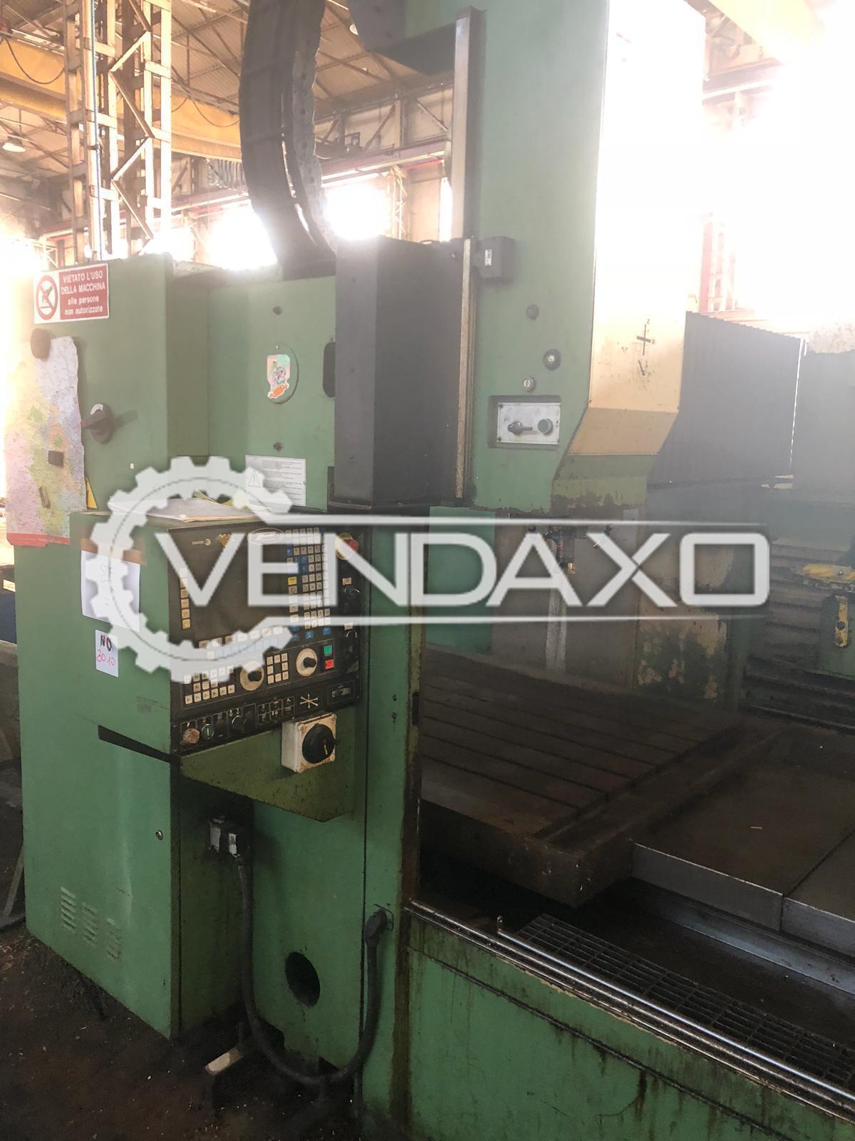 Bergonzi FP-2000L CNC Vertical Machining Center VMC - Table Size - 1500 x 2000 mm