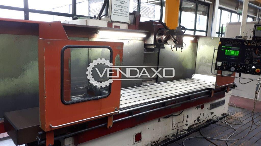 Lagun FBF-3250 CNC Bed Milling Machine - 3250 x 800 mm