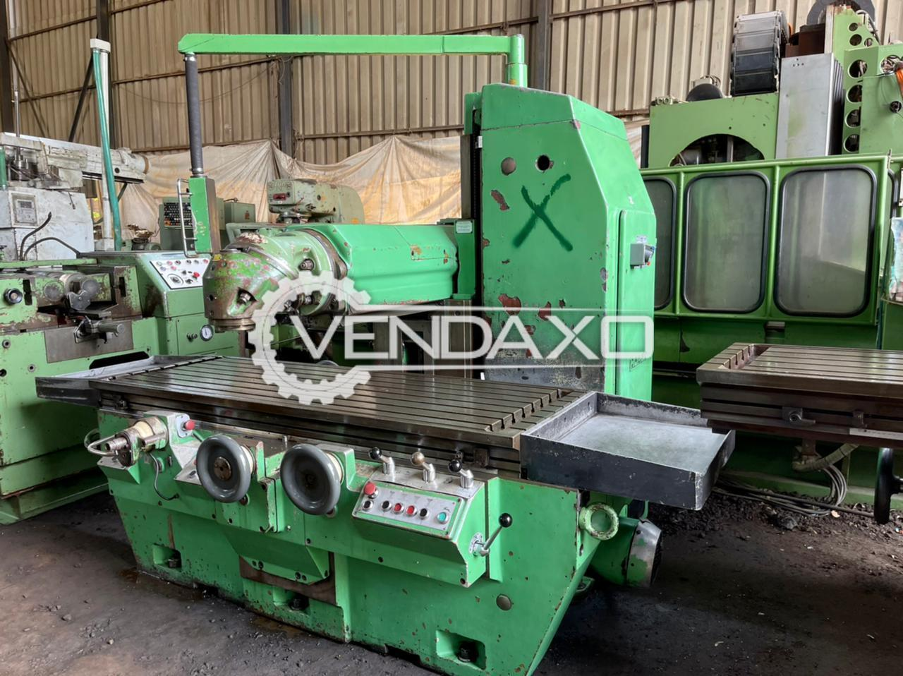 Huron PU771 Bed Milling Machine - Table Size - 2200 x 700 mm