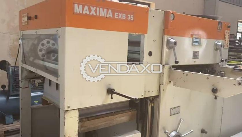 Maxima Die Punching Machine - 25 x 36 Inch