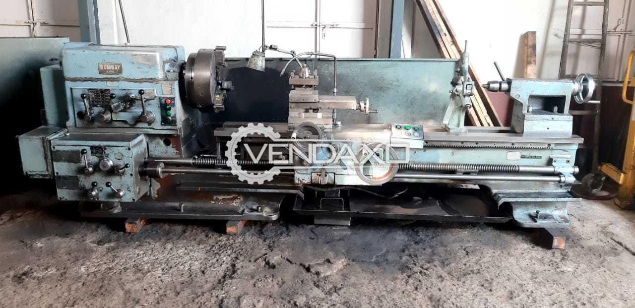 Bombay Make Lathe Machine - 2 Meter X 14 Inch