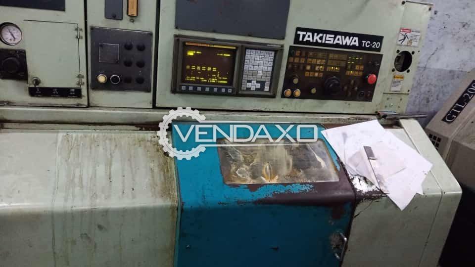 Takisawa TC-20 CNC Turning Center - Chuck Diameter - 200 mm