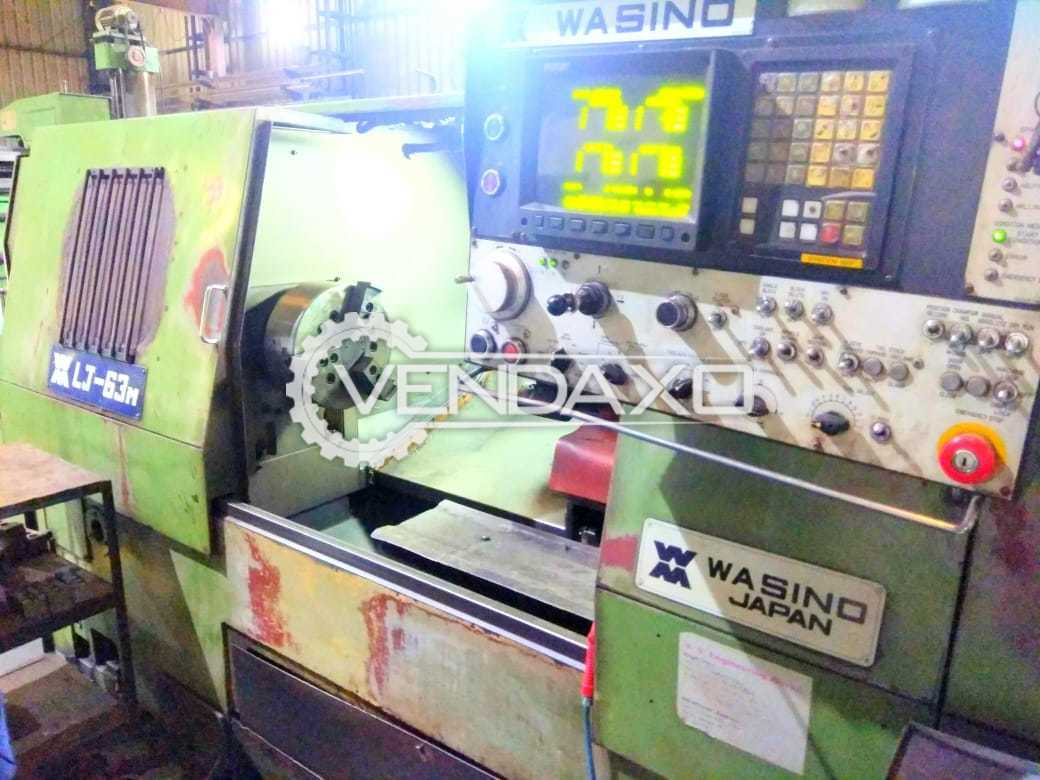 Wasino LJ-63M CNC Turning Center - Chuck Size - 250 mm