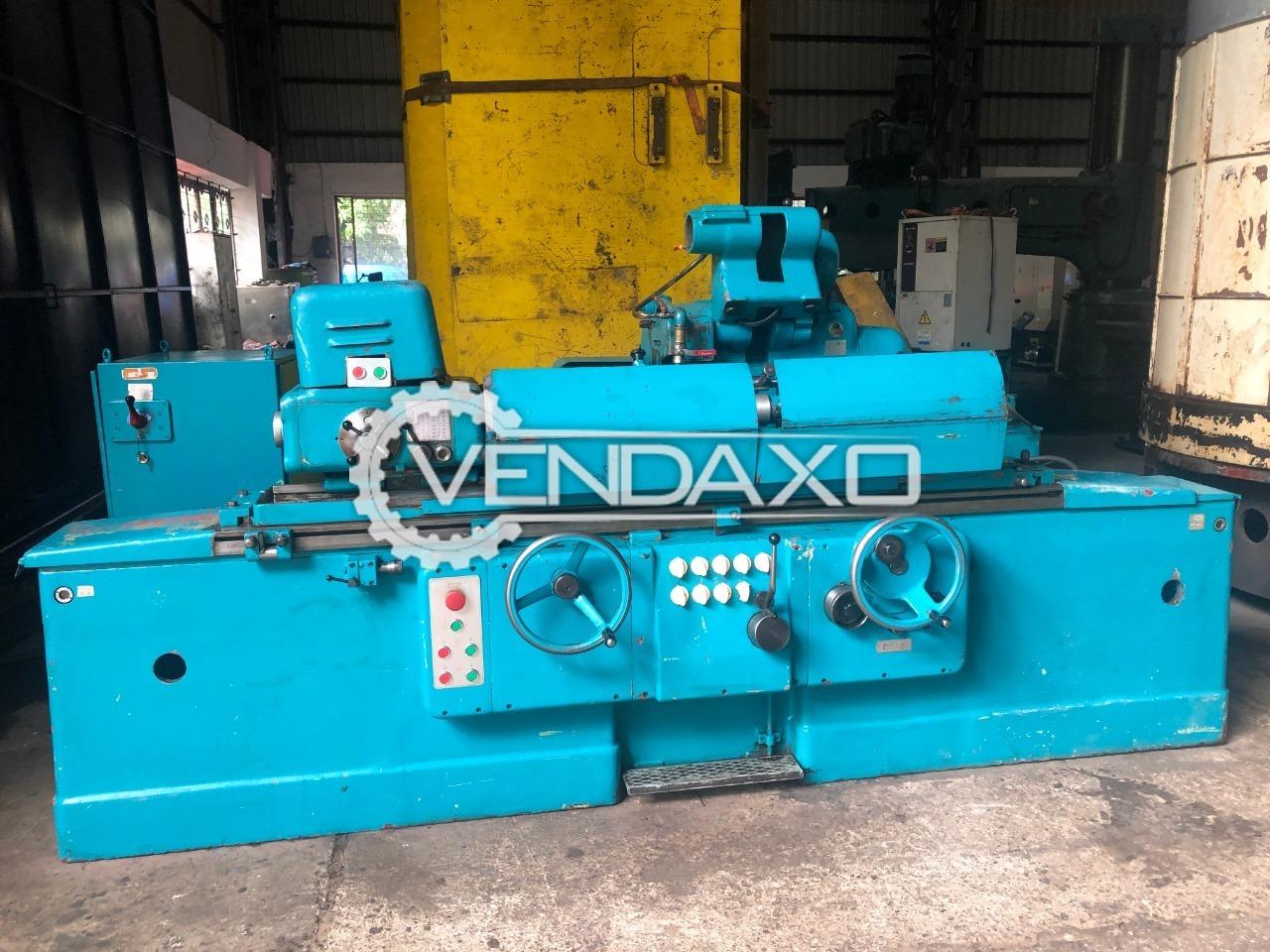 TOS BUA 31 x 1000 Cylindrical Grinder Machine - 1000 x 310 mm