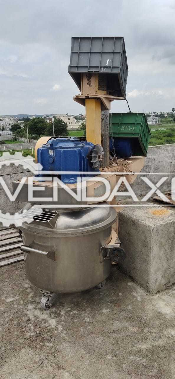 For Sale Used Planetary Mixer - 200 Liter