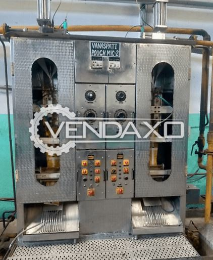For Sale Used 3 Set OF Vanaspati Pouch Packaging Machine - 200 ML to 1 Liter