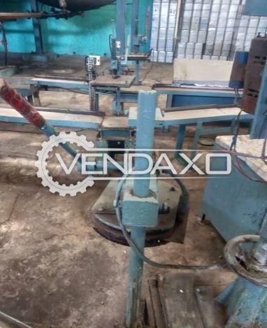 For Sale Used 3 Set OF Aluminum Foil Press Machine
