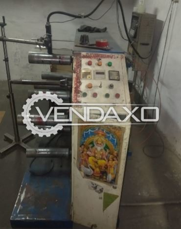 For Sale Used 2 Set OF Domino Printing Machine For Pouch Film Role & Jar