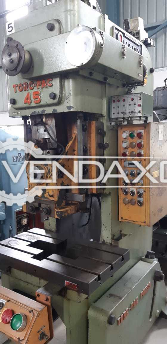 Amada Torc-pac 45 Power Press Machine - 45 Ton