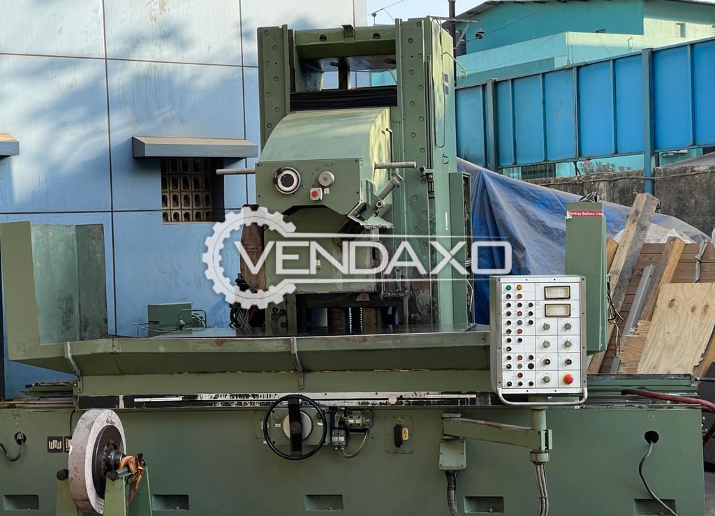 WMW Surface Grinder Machine - Magnet Size - 2000 x 800 mm