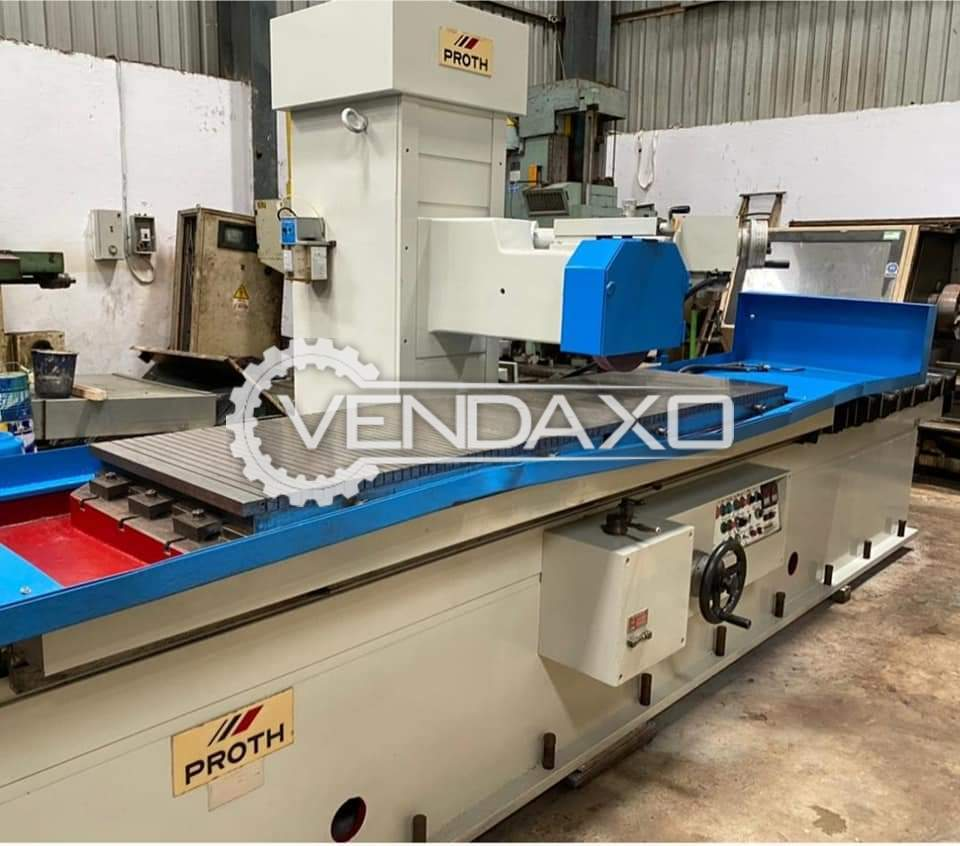 Proth PSGO 60220AHR Surface Grinding Machine - Magnetic Size - 2200 x 600 mm
