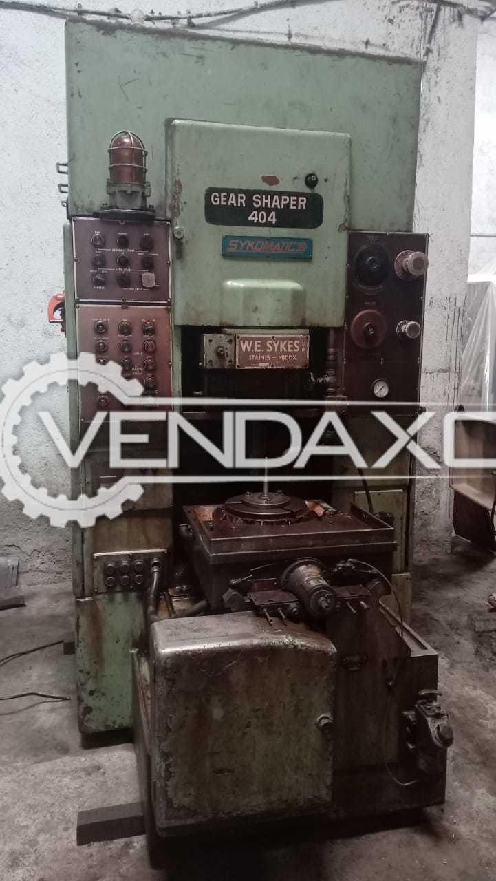 Wesykes V10B Gear Shaper Machine - Diameter - 250 mm