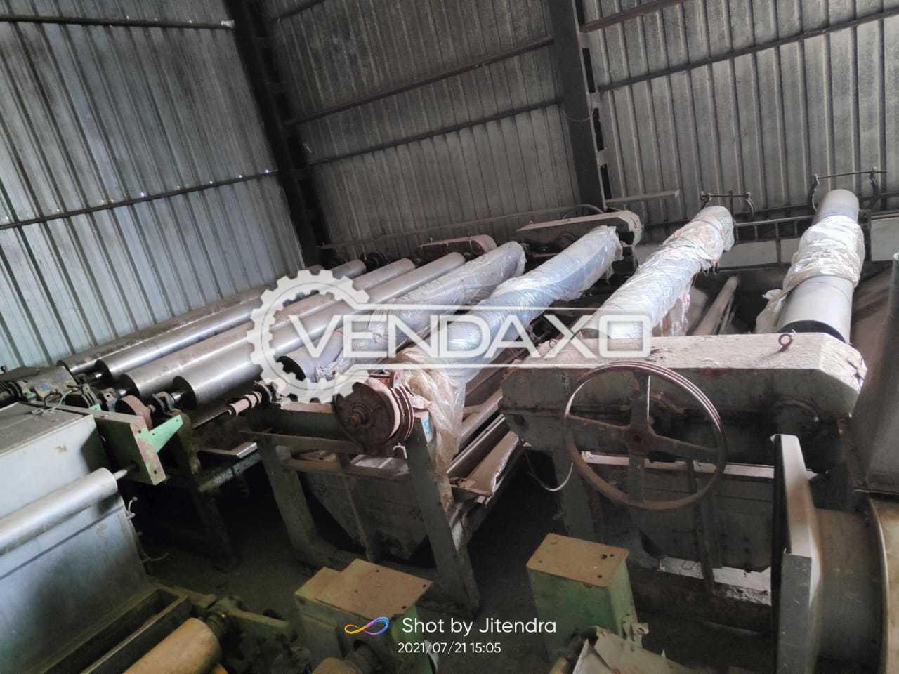 2 Set OF Harish Jiggers Machine - Width - 120 & 134 Inch