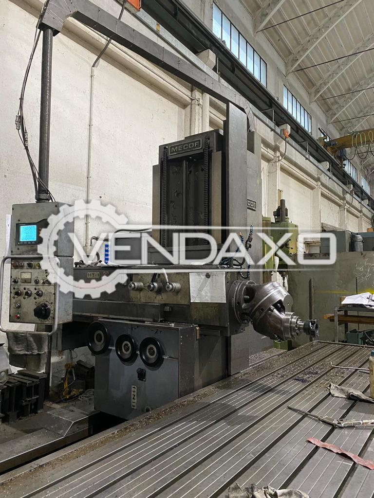 Mecof CS10VA Bed Milling Machine - Table Size - 6000 x 1200 mm