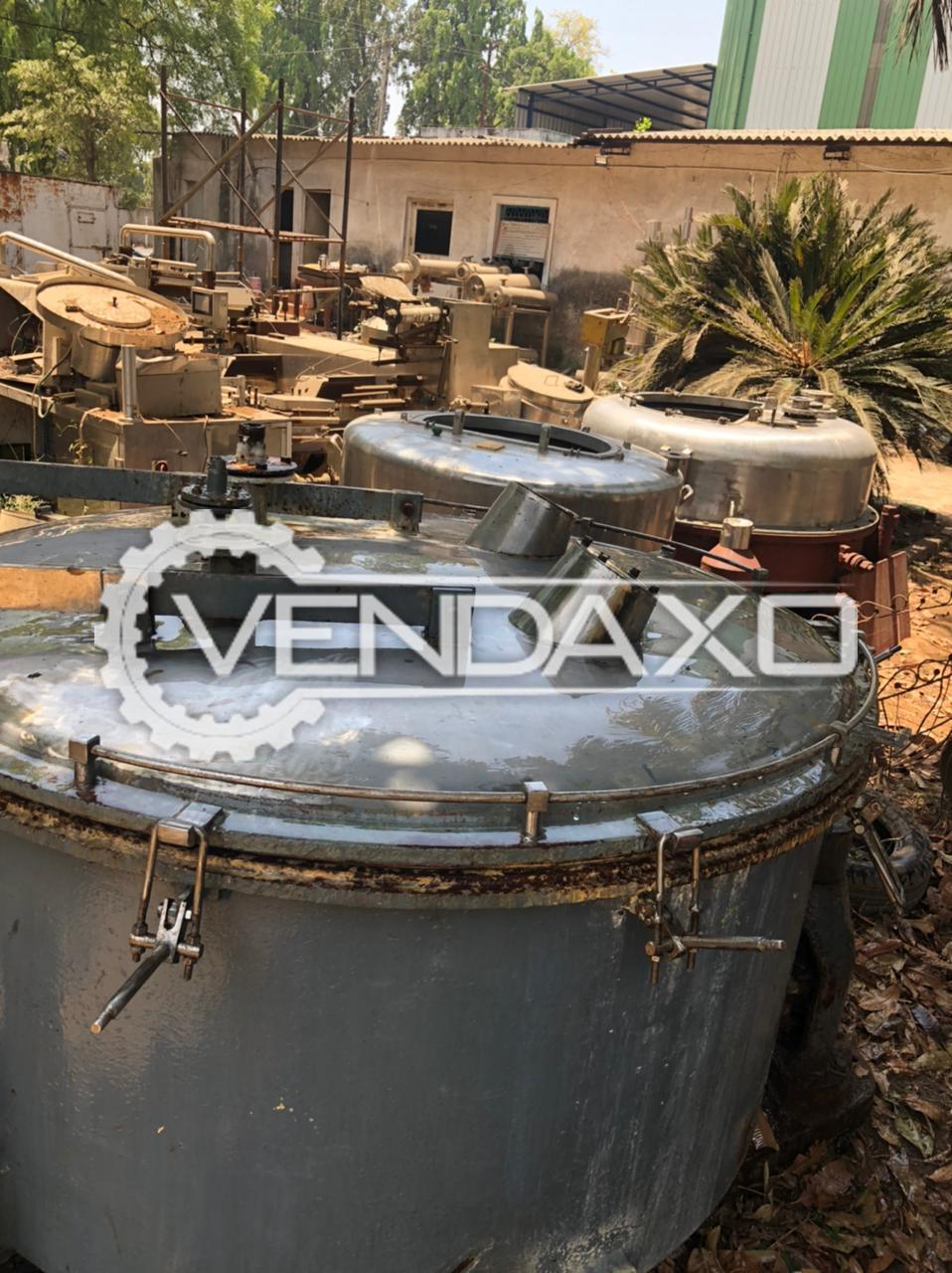 For Sale Used SS 316 Centrifuge - 60 Inch