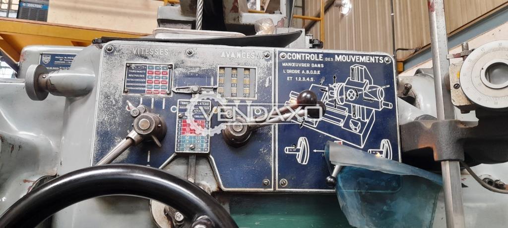 HMT Pegard AF7 Horizontal Boring Machine - Spindle Size - 70 mm