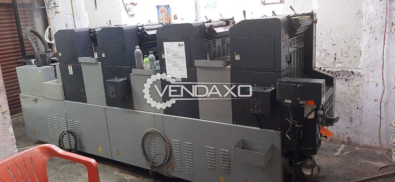 ABDICK 4995A Offset Printing Machine - 13 x 19 Inch, 4 Color