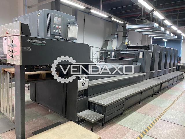 Heidelberg CD 102-5+LX Offset Printing Machine - 28 x 40 Inch, 5 Color