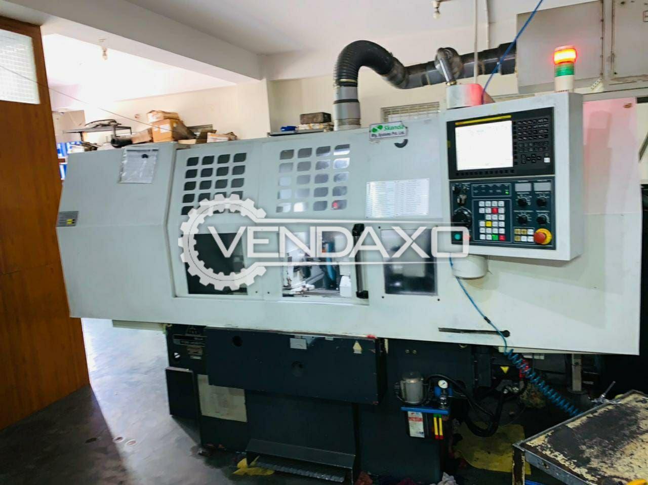 Baumuller CNC ID & OD Grinding Machine - Length - 450 mm