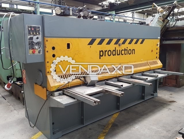 Piesok Hydraulic Shearing Machine - 3000 x 10 mm