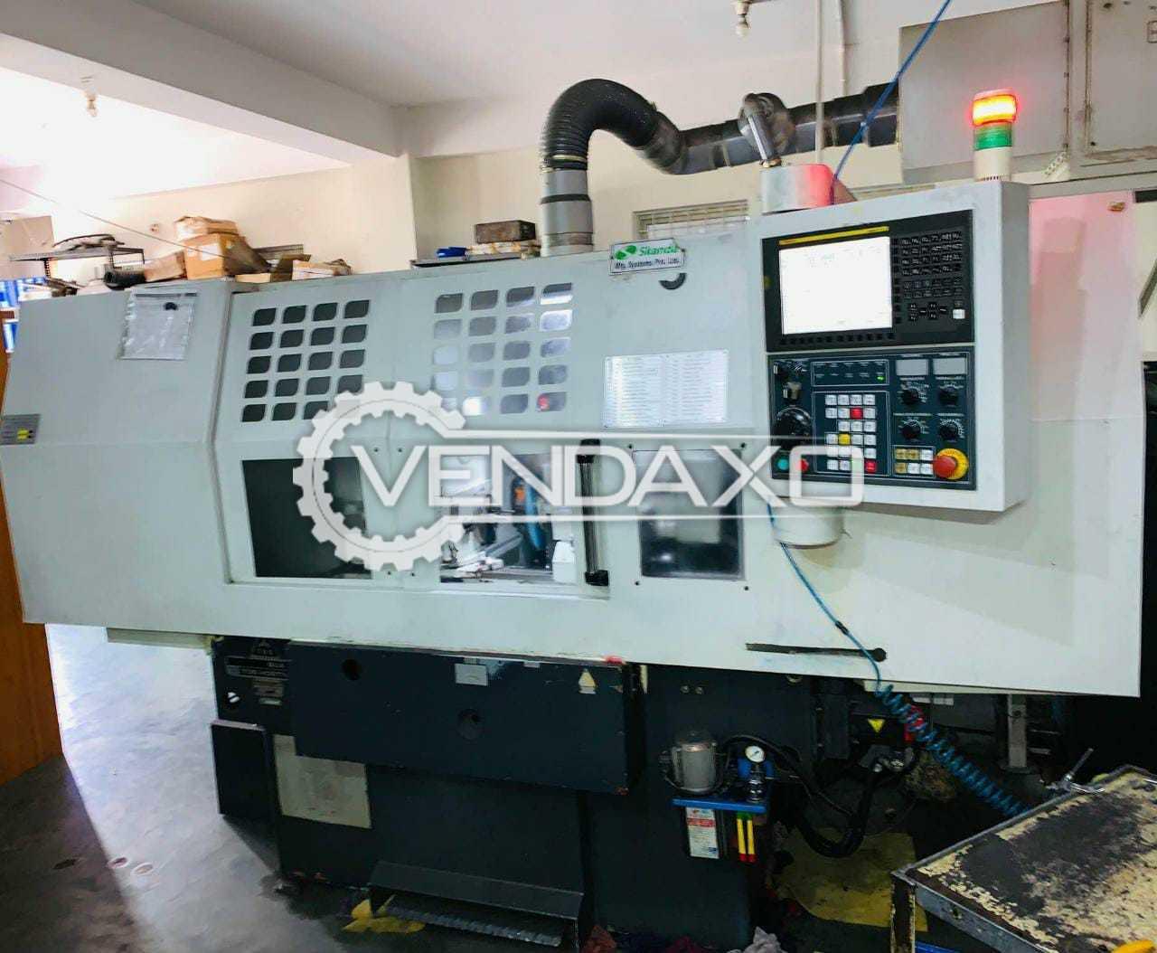 TOS Hostivar BUA 25 CNC Cylindrical Grinding Machine - 1000 mm